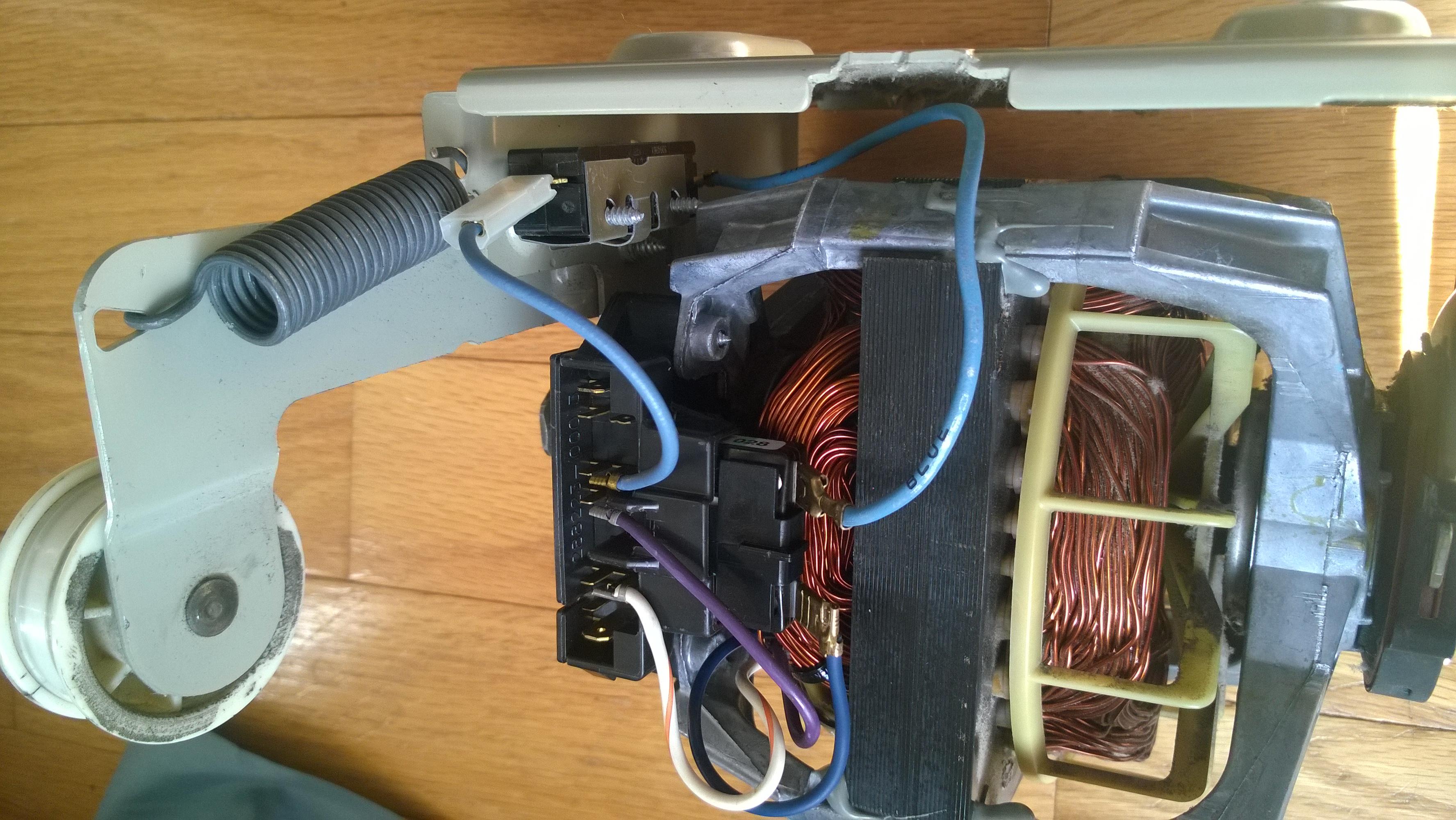 Replacing Dryer Motor With 279787  The Broken Belt Sensor